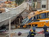 مقتل 4 عمال فى حادث انهيار جسر فى العاصمة الإندونيسية جاكرتا