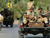 الشرطة الباكستانية تضبط كمية كبيرة من الأسلحة والذخائر