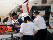 التحالف العربى: طائرة للأمم المتحدة تجلى 50 جريحاً من الحوثيين لمسقط للعلاج