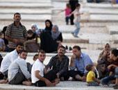 أكثر من 9 آلاف نازح سورى عادوا لبلادهم منذ فتح ممر (جليجم) بريف حمص الشرقى