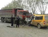 مقتل 40 شخصا فى اصطدام بين حافلة وشاحنة فى تنزانيا