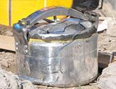 انفجار عبوة ناسفة على مزلقان السكة الحديد بالفيوم