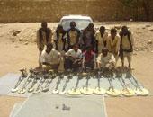 """ضبط 14 سودانيا بحوزتهم """"زئبق أحمر"""" للتنقيب عن الذهب بأسوان"""