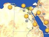 الأرصاد: الطقس غدا مائل للدفء على السواحل الشمالية والعظمى بالقاهرة27
