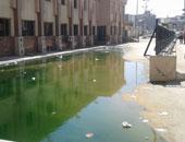 أهالى العمرانية يحذرون المسئولين من اختلاط مياه الصرف بأكشاك الكهرباء