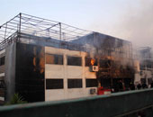 إخماد حريق محدود داخل مركب نيلى بماسبيرو دون إصابات