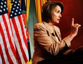 بيلوسى توقع على مشروع قانون لإنهاء اغلاق الحكومة الأمريكية