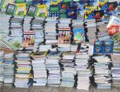 مباحث المصنفات تضبط 3 آلاف كتاب ثانوية عامة داخل مكتبات بعين شمس