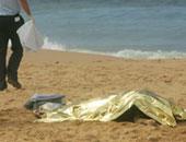 غرق شاب فى مياه البحر المتوسط ببلطيم كفر الشيخ