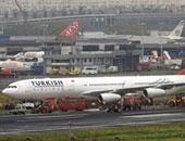 إغلاق مطار فى إسطنبول بسبب انزلاق طائرة ركاب أثناء هبوطها