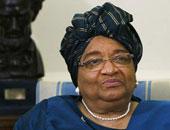 الحزب الحاكم فى ليبيريا يطرد الرئيسة المنتهية ولايتها من صفوفه