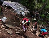 مظاهرة بالمكسيك للمطالبة بإرسال المساعدات للمناطق المتضررة من الأعاصير