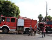 السيطرة على حريق محكمة دمنهور