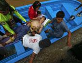 غرق 5 طلاب أثناء عبورهم نهر فى الفلبين