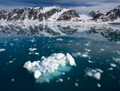 واشنطن بوست: ارتفاع درجة حرارة القطب الشمالى 45 درجة فوق المعتاد