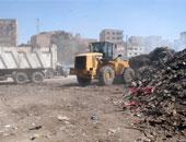 حملة لرفع المخلفات والأتربة بالشوارع بقرى القناطر