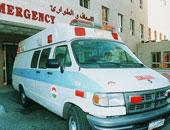 شاهد ..مريض يسرق سيارة إسعاف من مستشفى الملك عبد العزيز بالسعودية