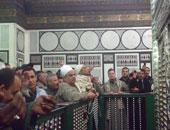 الإعلام الإيرانى يزعم: آلاف الشيعة تظاهروا احتجاجا على غلق ضريح الحسين