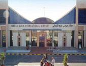 مطار مرسى علم يستقبل العائدين من أمستردام بواقع 124 راكبا