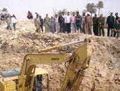 ضبط 5 أشخاص يحفرون أسفل أحد منازل القليوبية للبحث عن آثار