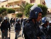 إعادة فتح مراكز الشرطة والسجون فى مدينة بنغازى الليبية
