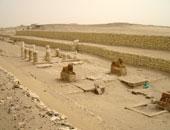 استجابة لليوم السابع: بدء المرحلة الثانية لترميم مدينة ماضى بالفيوم بعد إجازة العيد