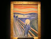 قصة صورة.. لوحة الصرخة لـ مونك.. إنسان معذب وسماء حمراء