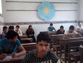 إصابة طالب بالثانوية للمكفوفين بذبحة صدرية أثناء امتحان التاريخ بسوهاج