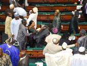 أشخاص يقتحمون جلسة للبرلمان النيجيرى ويخطفون صولجانا