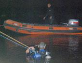انتشال جثة شابة طافية بمياه النيل فى الجيزة