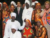 """مشاركة """"فرقة توشكى الاستعراضية"""" بمهرجان الطبول ومؤتمر وزراء البيئة الأفارقة"""
