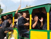 فيديو.. لحظة الافراج عن أكثر من 3 الاف سجين بمناسبة عيد الشرطة