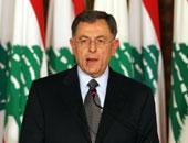 فؤاد السنيورة يؤكد على الأهمية التى توليها مصر بقيادة الرئيس السيسى للبنان