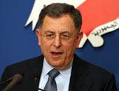 رئيس وزراء لبنان الأسبق يصل القاهرة للمشاركة فى مؤتمر الأزهر لنصرة القدس