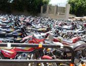 الشرطة تكافح فوضى الموتوسيكلات و تضبط 784 مركبة مخالفة بالمحافظات