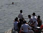 انتشال جثة صياد غرق فى نهر النيل أمام منطقة طابية عرابى بدمياط