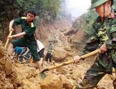 اليابان تستأنف البحث عن 16 مفقودا مع انتظار النازحين بسبب الفيضانات
