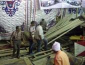 إصابة 4 أشخاص في انهيار جزئى لمسرح حفل افتتاح مطعم بمنطقة الأهرامات