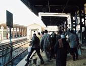 عودة حركة القطارات بالمنوفية بعد تعطلها لأكثر من ساعتين