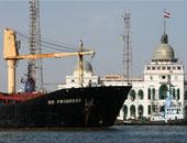 تفريغ 2900 طن رخام وتداول 23 سفينة بموانئ بورسعيد