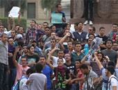وقفة لطالبات الأزهر بدمياط تضامنا مع الأقصى