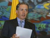 إلغاء أمر الإقامة الجبرية لرئيس كولومبيا السابق ألفارو أوريبي