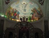 المسيحيون فى دمشق يحتفلون بأحد السعف