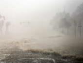 """إصابة 10 فلسطينيين بغزة جراء المنخفض الجوى """"هدى"""""""