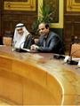 لقاء الرئيس بنقباء الصحفيين العرب