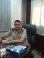 الرائد محمد زيتون رئيس وحدة مرور منيا القمح
