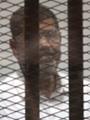 """وصول """"مرسى"""" أكاديمية الشرطة لحضور جلسة محاكمته فى """"أحداث الاتحادية"""""""
