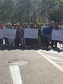"""مستأجرو كبائن المنتزه يتظاهرون للمطالبة بوقف قرار """"السياحة"""" بسحبها"""