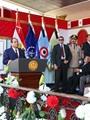 الرئيس خلال مشاركته فى احتفالات نصر أكتوبر