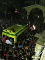 أهالى الشرقية يشيعون شهيد سيناء فى جنازة عسكرية وشعبية حاشدة